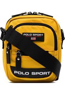 Polo Ralph Lauren Bolsa Carteiro De Nylon Com Aplicação De Logo - Amarelo