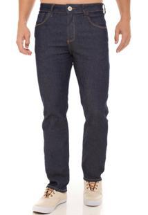 Calça Jeans Z-32 Slim Fit Masculina - Masculino-Azul