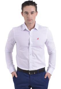 Camisa Social Horus Slim Branca
