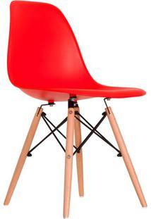 Cadeira Charles Eames Vermelha