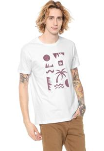 Camiseta Hang Loose Silk Cliffs Branca