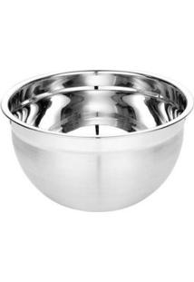 Tigela Mixing Bowl Inox Escovado 18 Cm - Tigela Mixing Bowl Inox 18Cm