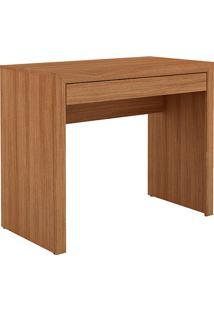 Mesa Para Escritório Me4107 Amêndoa - Tecno Mobili