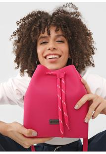 Bolsa Santa Lolla Saco Pink - Pink - Feminino - Dafiti