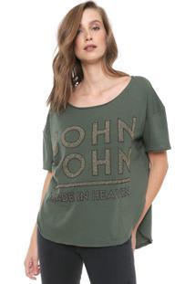 Blusa John John Gold Verde