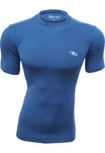 Camisa Térmica Manga Curta Mprotect Azul