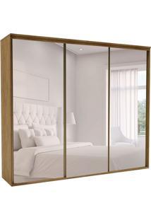 Guarda-Roupa Casal Com Espelho Luminum L 3 Pt 6 Gv Álamo