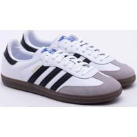 7dc599aafbb Tênis Adidas Samba Og Originals Branco Masculino 40