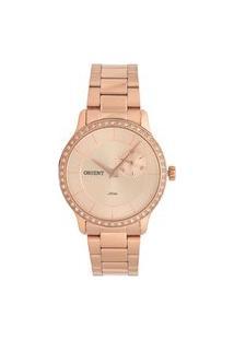 Relógio Orient Feminino Eternal Analógico Dourado Frssm025-R1Rx