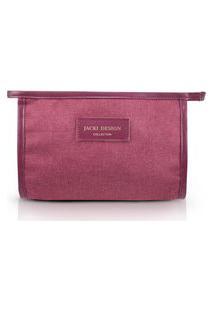 Necessaire Envelope Jacki Design Be You Vinho