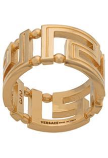 Versace Anel Greco - Dourado