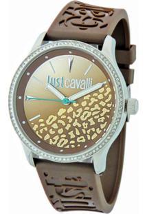 Relógio Just Cavalli Wj29136R Marrom Chocolate