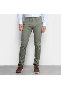 Calça Skinny Lacoste Sarja Masculina - Masculino