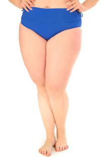Calcinha Hot Pants Plus Size Acqua Rosa Azul