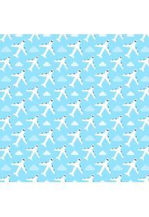 Papel Adesivo Sunset Adesivos De Parede Infantil Aviões - Rolo 6,00 X0,50 M