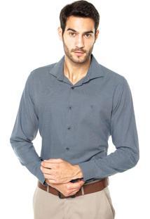 Camisa Vr Mini Geo Azul