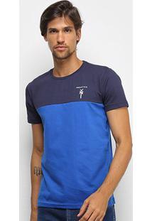 Camiseta Industrie New York Masculina - Masculino-Marinho