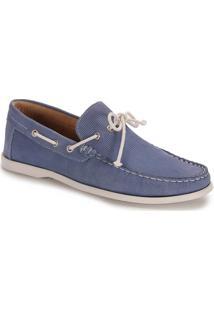 Sapato Dockside Masculino Metropolitan - Azul