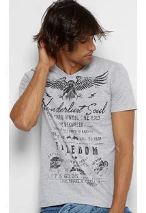 Camiseta Kohmar Águia Freedom Masculina - Masculino