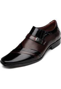 Sapato Pro Mais 0751A Co Preto-Vermelho
