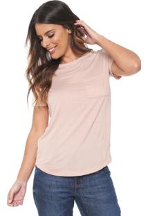 Camiseta Lez A Lez Bolso Rosa