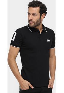 Camisa Polo Rg 518 Piquet Bordado Número - Masculino