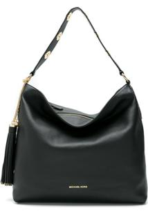 Michael Michael Kors Bolsa Shoulder Brooklyn - Preto