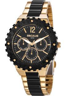 Relógio Seculus Feminino 20761Lpsvdf1
