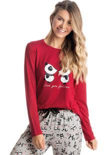Pijama Panda Love