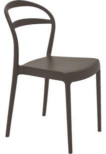 Cadeira Sissi- Marrom- 80X44X53Cm- Tramontinatramontina