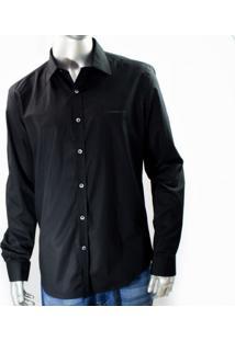 Camisa Social Ellus Second Floor Tricoline Lycra 20Sb711