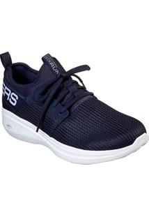Tênis Skechers Go Run Fast Masculino - Masculino-Azul Escuro