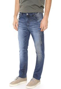 Calça Jeans Forum Skinny Alexandre Azul