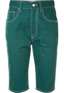 Kirin Bermuda Jeans - Verde