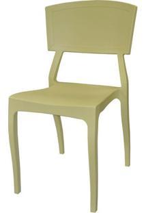 Cadeira Hitz Polipropileno Sem Braco Cor Fendi - 23004 Sun House