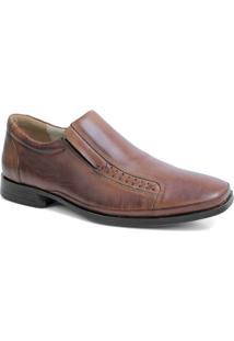 Sapato Couro Riber Shoes Elastico Anti-Stress Masculino - Masculino