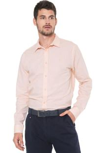Camisa Forum Reta Smart Laranja