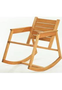 Cadeira Balanco Janis Stain Jatoba 80Cm - 61405 - Sun House