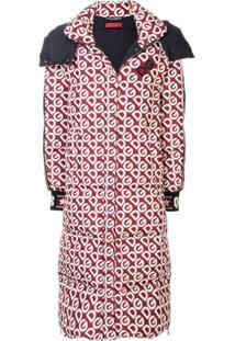 Dolce & Gabbana Jaqueta Com Zíper - Vermelho