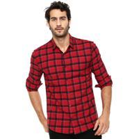 Camisa Calvin Klein Xadrez masculina   El Hombre 25e6a0b8f3