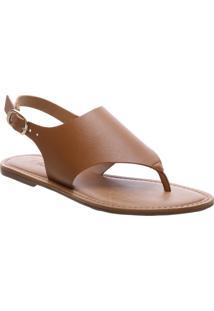 Sandália Forma Geométrica Marrom | Anacapri
