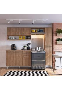 Cozinha Compacta 4 Peças 7 Portas Madri Siena Móveis Teka