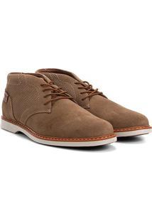 Sapato Social West Coast Dubai Amarração Masculino - Masculino-Marrom
