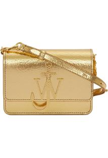 Jw Anderson Bolsa Com Logo Âncora - Dourado