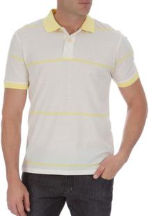 2201c2b0f7 Camisa Pólo Amarela Poliester masculina