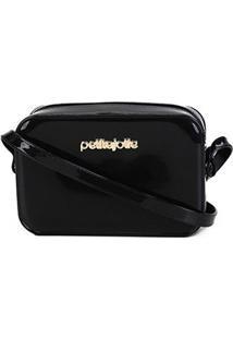 Bolsa Petite Jolie Mini Bag Pop Express Feminina - Feminino-Preto