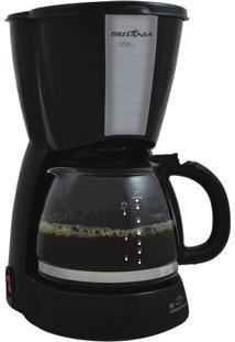 Cafeteira Britânia Cp30 H Preta 30 Cafezinhos 127V