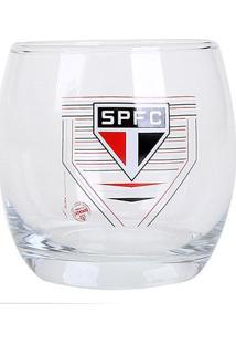 Conjunto De Copos São Paulo Bola - 2 Unidades