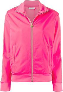Chiara Ferragni Side Stripe Track Jacket - Rosa