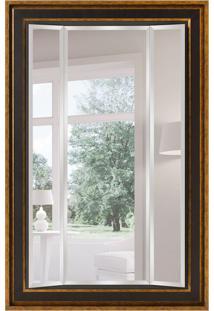 Espelho Decorativo Trieste 118X179 Cm Dourado